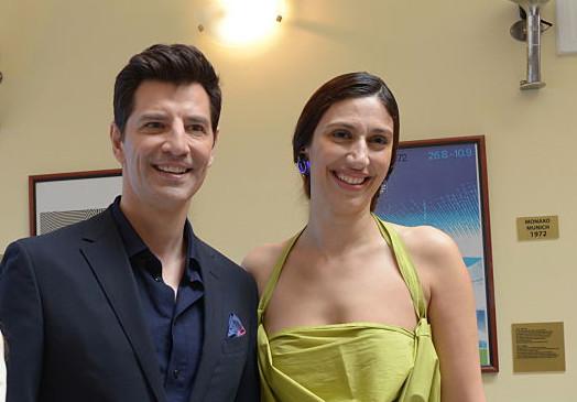 Sakis Rouvas and Eleni Kyriacou