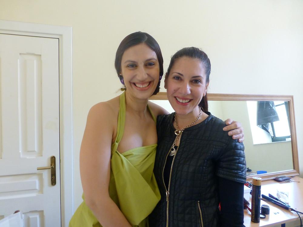 Eleni Kyriacou and Eleftheria Gkoufa of The Benaki Museum