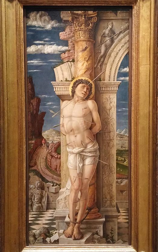 Andrea Mantegna, Saint Sebastian