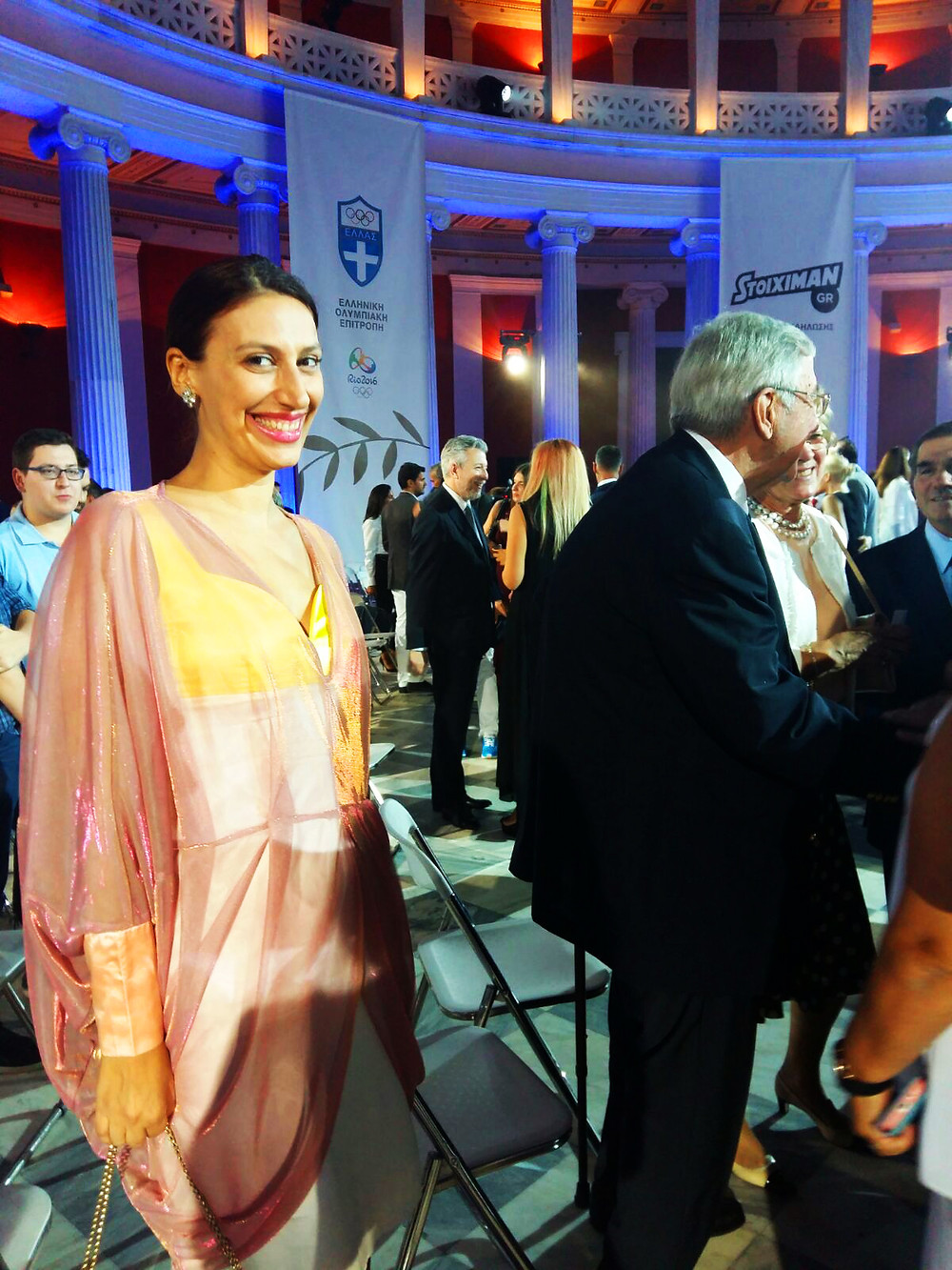 The former King of Greece and Eleni Kyriacou