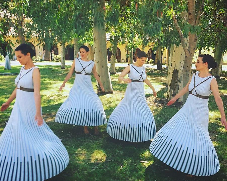 Eleni Kyriacou Costumes: Priestesses