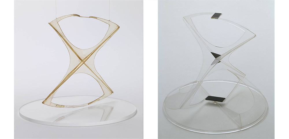 Naum Gabo Sculpture - Fashion Collection Inspiration