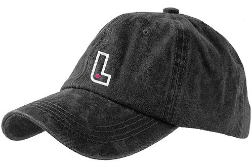 """Grey Inhailer Logo """"Dad"""" Hat"""
