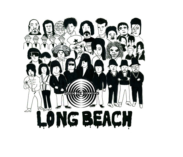 Illustration for Third Eye Records