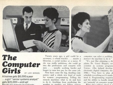הכירו את נערות המחשב של שנות השישים