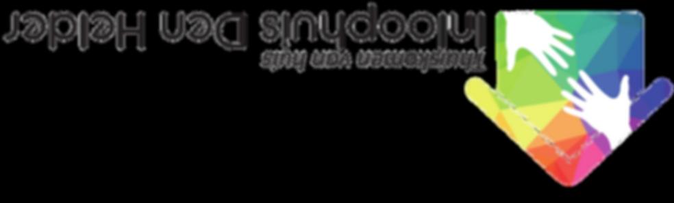 Nieuwe logo (Op zijn kop) Inloophuis Den