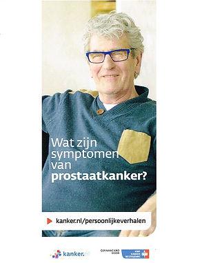 Wat zijn de symptomen van prostaatkanker