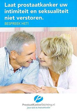 Prostaatkanker laat uw  intimiteit en se