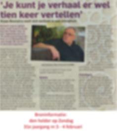 Artikel uit Den Helder op zondag