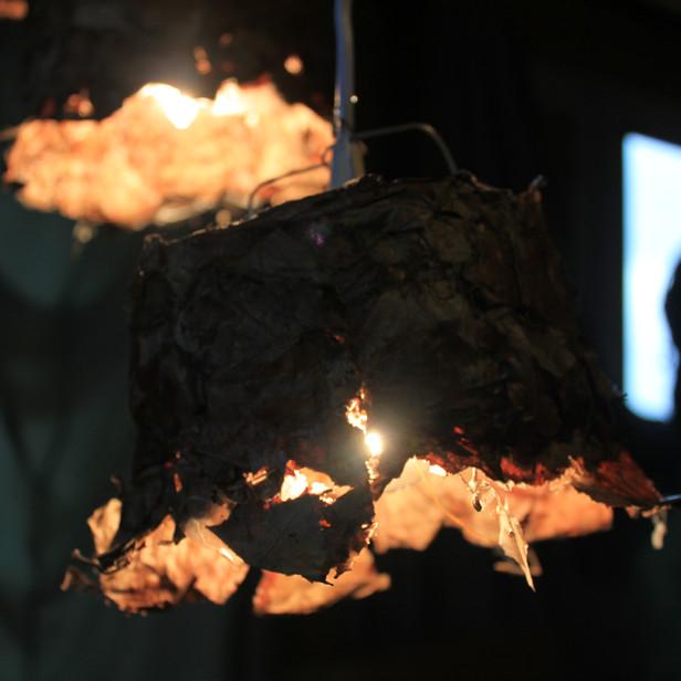 De niet duurzame lamp