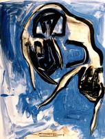 Ilya Grinberg, Euthanasie, c.1995-2000, gouache et aquarelle sur papier, 65 x 50 cm.