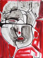 Ilya Grinberg, sans titre, c.2005-2010, gouache sur papier, 65 x 50 cm.