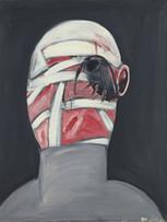 Jacques Grinberg, sans titre, c.1964-1965, huile sur toile, 92 x 73 cm.