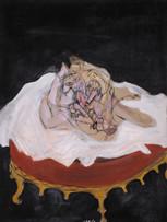 Mao To Laï, Nuit d'amour, c.1968-1969, huile sur toile, 130 x 97 cm.