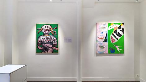 ROSE(S) - Sept peintres de 1960 à nos jours