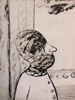 Mao To Laï, sans titre, c.1973-1975, encre sur papier, 65 x 50 cm.