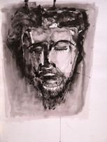 Ilya Grinberg, sans titre, 1998, gouache sur papier, 65 x 50 cm.