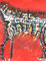 Ilya Grinberg, LSD, c.2005-2010, gouache sur papier, 50 x 65 cm.