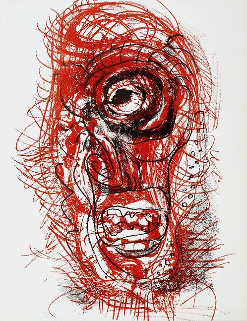 Jacques Grinberg, Une autre possibilité, 1971, lithographie.