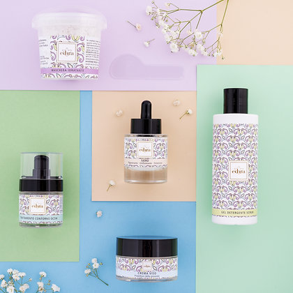 Beauty skin routine