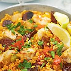 Chicken and/or Chorizo Paella