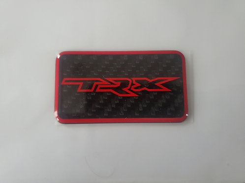 2021+ Ram TRX supercharger badge by Rebadge design
