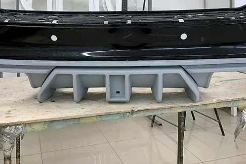 DST complete rear diffuser for 2012+ jeep srt & 2018+ jeep Trackhawk