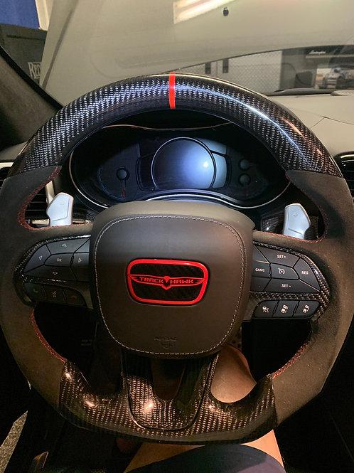 2014-2020 mopar Alcantara and carbon with led steering wheel