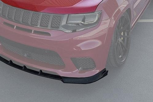 DST front bumper splitter for 17+ jeep srt & Trackhawk