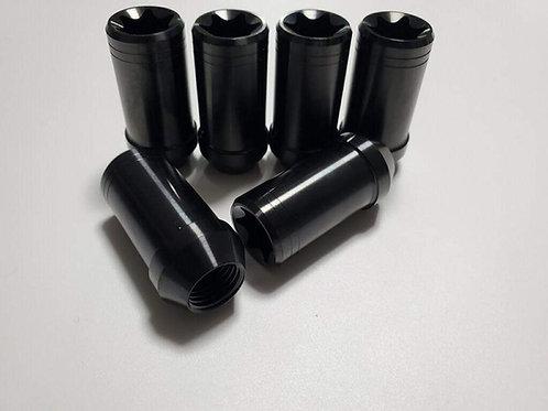 Titanium black lugnuts for wk2 platform