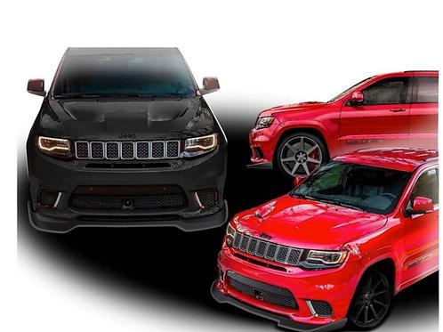 Dst 2017-2020 jeep grand Cherokee SRT and trackhawk fg splitter