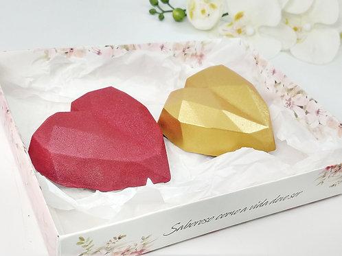 Coração Lapidado - Kit1