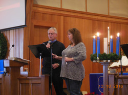 Rick Wall & Erica Meinke singing duet