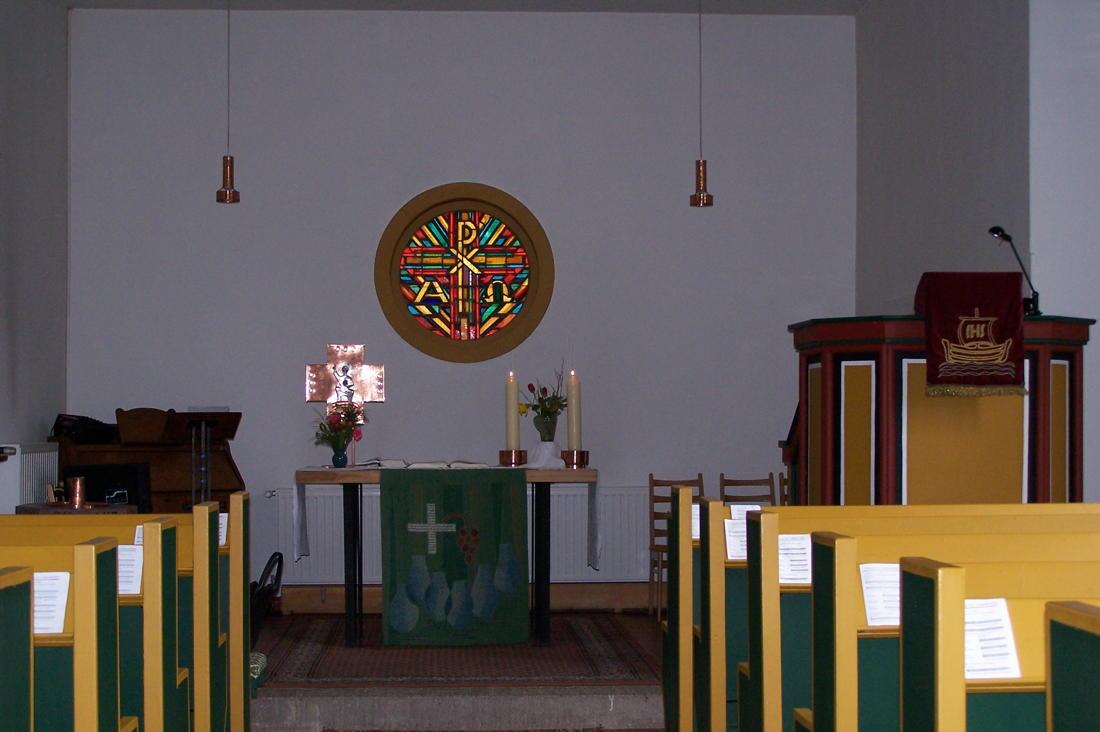 Kirchenschiff Bergkirche Sitzendorf