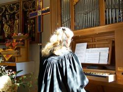 Orgelpositiv Unterweißbach