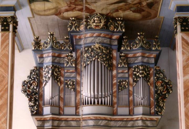 Orgel Kirche Schmiedefeld