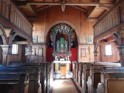 Kirchenschiff Talkirche Schwarzburg