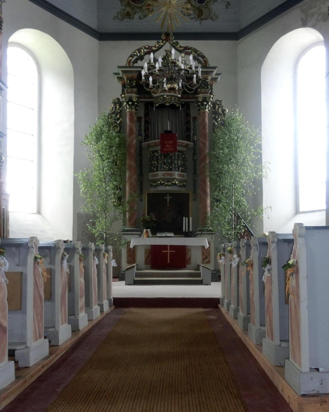 Kirche Schmiedefeld Altar