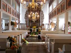 Kirchenschiff Meura