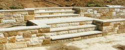 Sandstone Retaining Walls