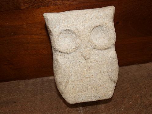 Small sandstone owl