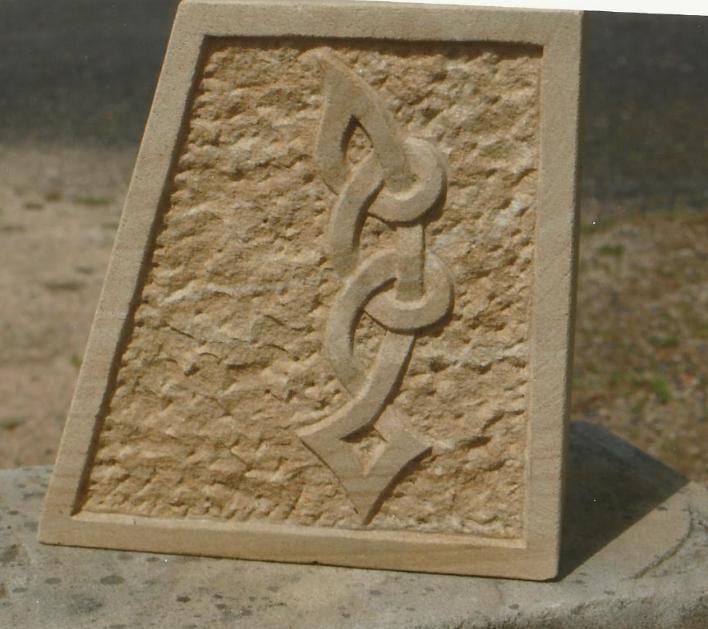 Celtic carving