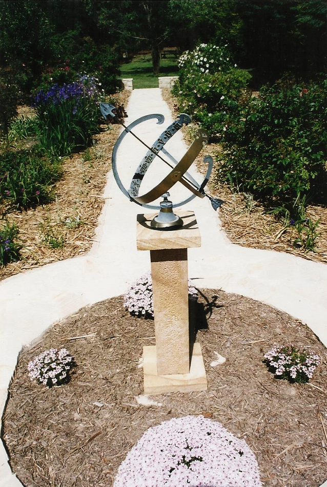 Sandstone Sundial Pedestal