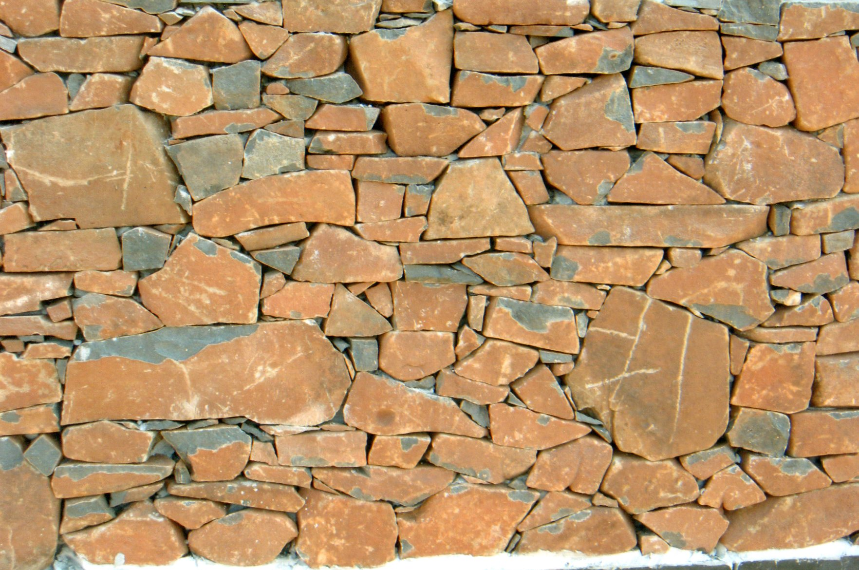 Drystone walling using Basalt
