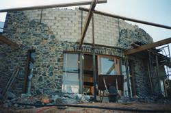 Basalt walling