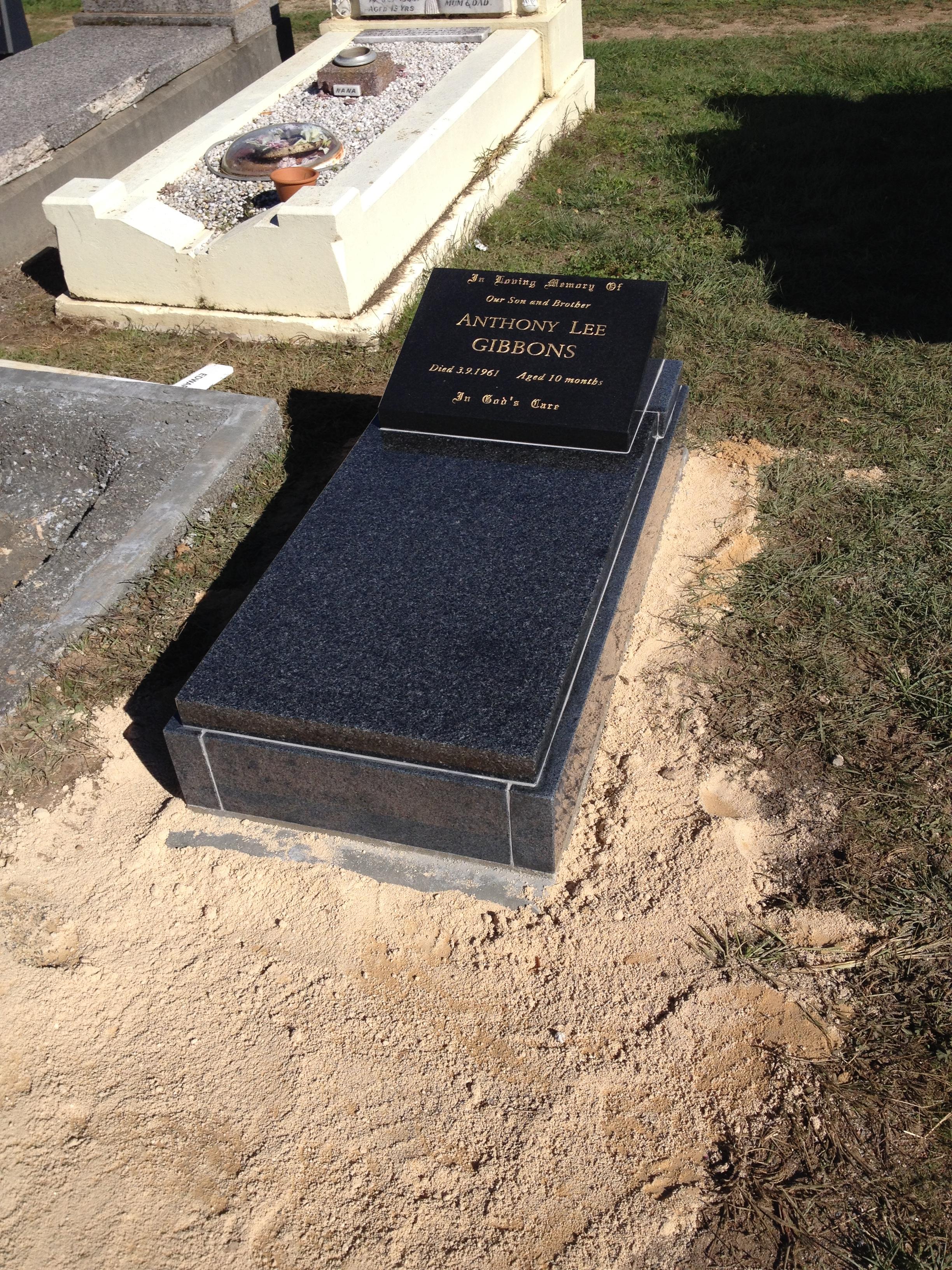 Infants Granite Memorial