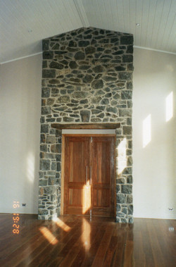 Bluestone door entrance
