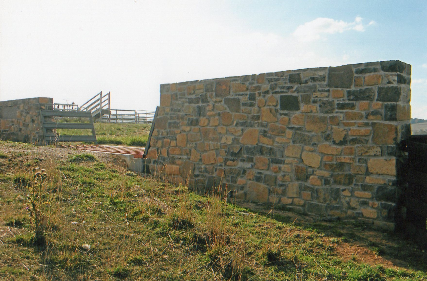 Basalt Property Entrance Wall