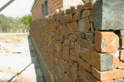 Basalt dry stone walling