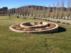 Circular Garden beds